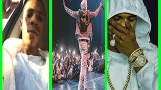Help me make this channel better anything helps!  : https://www.paypal.me/WasayHThanks for watching subscribe for more videos!Follow me on twitter: https://twitter.com/BluntedMusicYTA Boogie Wit Da Hoodie GETS HIT IN THE FACE  while PERFORMING then LATER TALKS ABOUT IT!!!