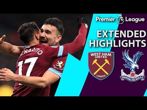 Video: West Ham v. Crystal Palace I PREMIER LEAGUE EXTENDED HIGHLIGHTS I 12/8/18 I NBC Sports