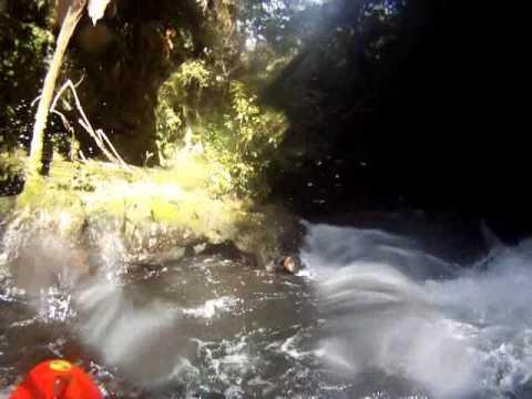 White water kayaking Fiordland