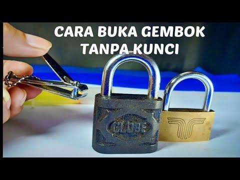 3 Cara membuka Gembok tanpa kunci / 3 way open lock very easy