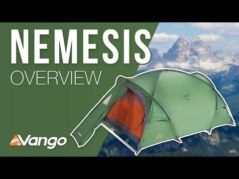 Відео демонстрація намету Vango Nemesis 200 Cactus