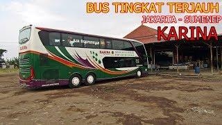 Video Bus Double Deck Terjauh. Naik Bus Nabrak Pohon. Trip Bus Tingkat Karina Jakarta   Sumenep MP3, 3GP, MP4, WEBM, AVI, FLV Juni 2018