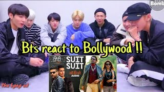 Video BTS reaction to Bolywood song 🔥Suit suit 💥Bangtan bomb @190818 MP3, 3GP, MP4, WEBM, AVI, FLV Maret 2019