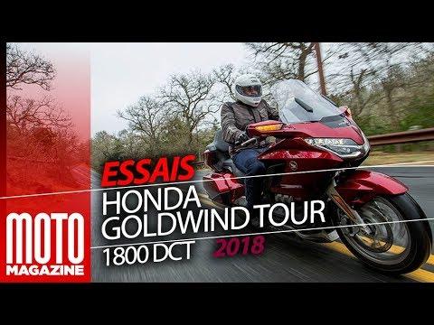Honda Goldwing Tour DCT 1800 - Essai Moto Magazine 2018