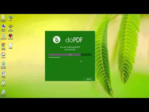 doPDF 8 Free Download Install And Use