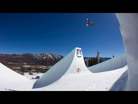 Witness the Red Bull Double Pipe