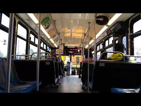 Fast Transit 650 on route 3S (Ride and Take Off)