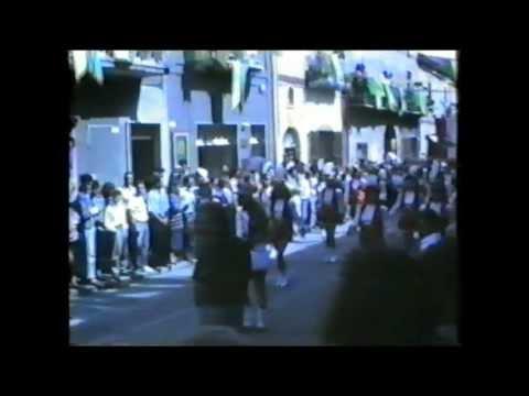 1989 (rioni e carri) Sfilata dei carri dell'uva di Solopaca - 19mn