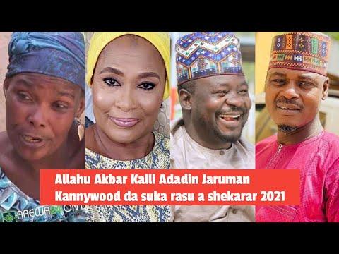 Allahu Akbar Kalli Adadin Jaruman Kannywood da suka rasu a shekarar 2021