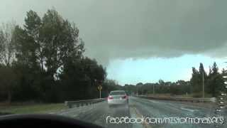 Amberley New Zealand  City pictures : Amberley, New Zealand Tornado - Feb 23rd 2014