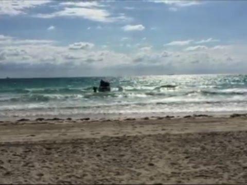 Raw: Cuban Migrants Arrive On Miami Shore