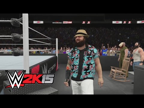 family - Watch The Wyatt Family as Bray Wyatt, Luke Harper and Erick Rowan make their entrance in WWE 2K15. Watch FULL WWE PPVS : http://bit.ly/1tpL79z Don't forget to SUBSCRIBE: http://bit.ly/1i64OdT.