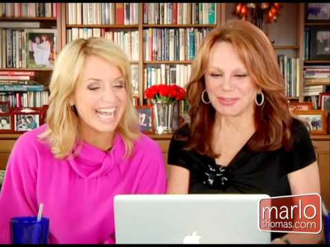 Marlo Thomas With Sex and Relationship Expert Laura Berman
