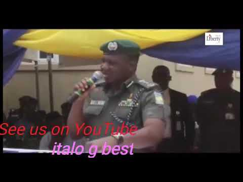 Nigeria IGP comedy speech on transmission and transmitting the nation