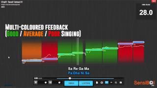 Singin'Guru: SensiBol's Technology For Music Education