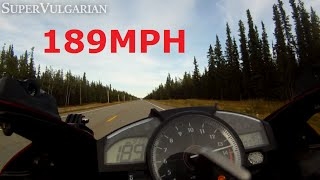 10. POWER: '07 Yamaha R1 Top Speed [189+mph]