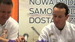 Konferencja po meczu Nbit Gliwice – GKS Tychy