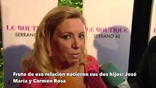 Se cumplen tres años de la boda de Carmen Borrego con José Carlos Bernal.