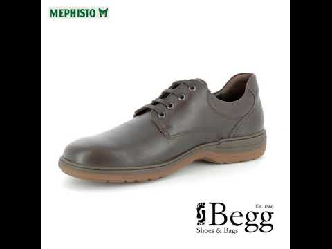 Mephisto Denys D33240CW-2151 Dark Brown casual shoes