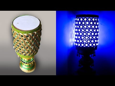 Newspaper Bed lamp | Marble bed lamp | Hand made | Best out of Waste | Art with Creativity 160