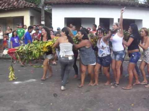 Derrubada do Mastro de São Benedito em São João da Ponta/Pá