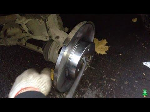 Как поменять передний тормозной диск на ваз 2108 фотография