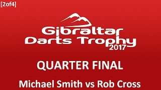 Thriller Between Michael Smith and Rob Cross! All content owned by the Professional Darts Corporation.