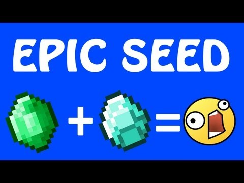 EPIC MINECRAFT DIAMOND & EMERALD SEED