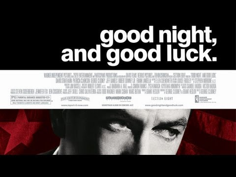 Good (film) - Buy on DVD: http://amzn.to/SYlT17 Good Night, and Good Luck. takes place during the early days of broadcast journalism in 1950's America. It chronicles the r...