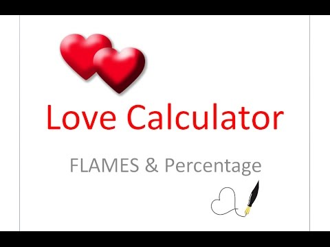 how to love percentage