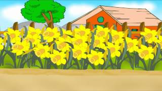 Daffy down Dilly - English Nursery Rhymes - English Cartoon Nursery Rhymes
