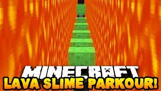 Minecraft LAVA & SLIME PARKOUR! (Custom Parkour Map) w/ PrestonPlayz & PeteZahHutt