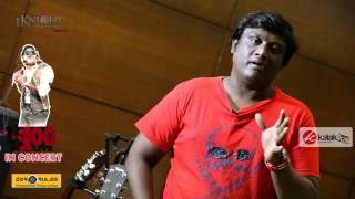 Singer Sathyan Speaks at U1 100 Live In Concert