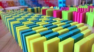 Video SPECTACULAR SCREENLINK 25,000 dominoes! With 101gabed MP3, 3GP, MP4, WEBM, AVI, FLV Maret 2018