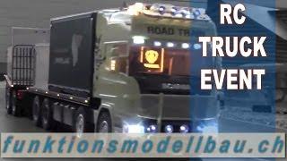BEST OF RC TRUCK EVENT - 2. Modellbau-Ausstellung Fahrwangen 2013 (RC Modellbau Trucks Seetal)