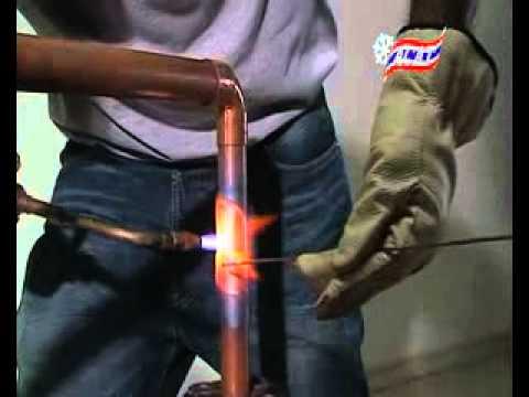 การเชื่อมบัดกรีท่อทองแดง