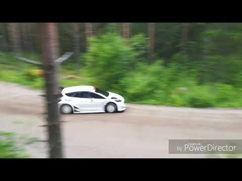 WRC FORD FIESTA/OGIER - Rally Finland secret test 09/07/2018