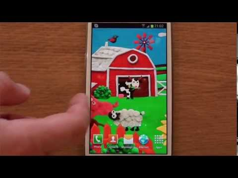 Video of Plasticine Farm Live wallpaper