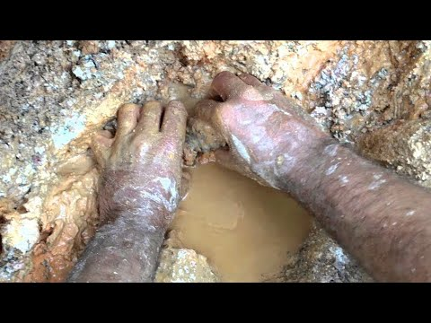 Diamond Hill Mine Documented Crystal Pocket Dec. 2015