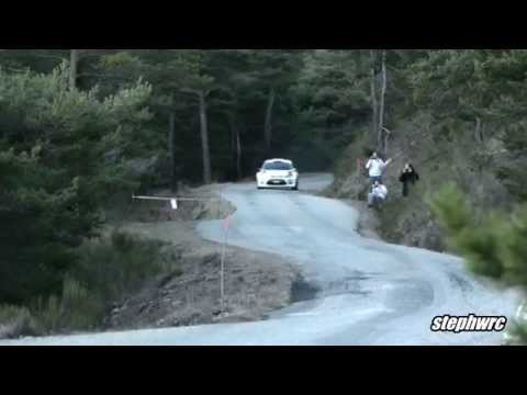 Kubica Flat Out at Test Rallye Monte Carlo 2015