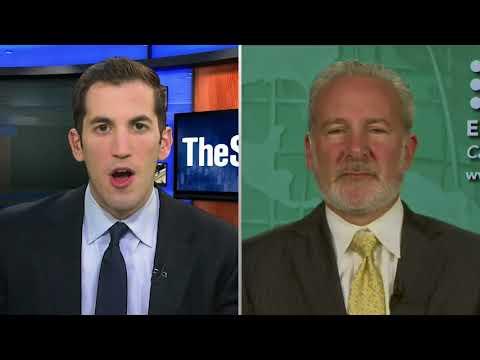 🔴   Peter Schiff on Trump's Economy, China, Bitcoin, KodakCoin, & the Fed