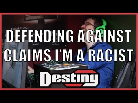 Destiny defends against claims that he