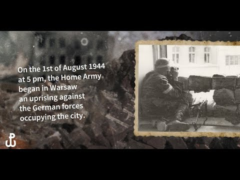73rd anniversary of the Warsaw Uprising
