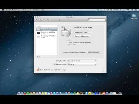 How To Add A Printer On Apple Mac