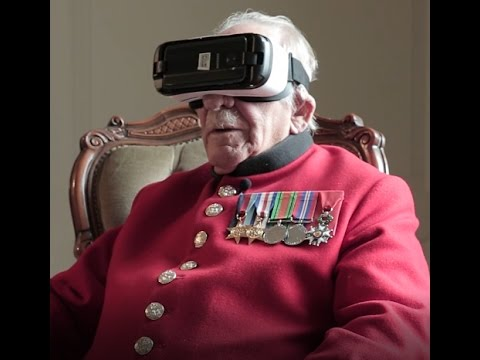 Video Twine - World War Two veteran uses VR for first time (Remembrance Day, 2016) download in MP3, 3GP, MP4, WEBM, AVI, FLV January 2017