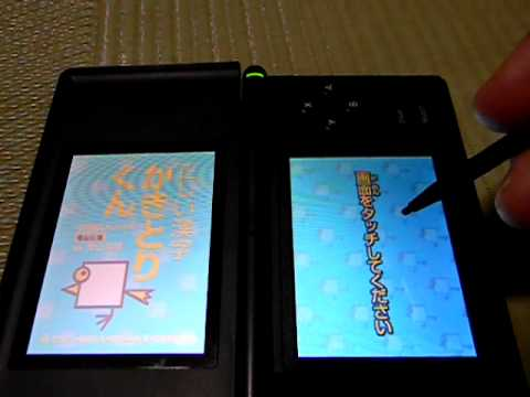DS Calligraphy Training Nintendo DS
