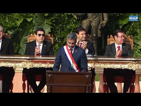 تنصيب ماريو عبدو بينيتيز رئيسا جديدا للباراغواي
