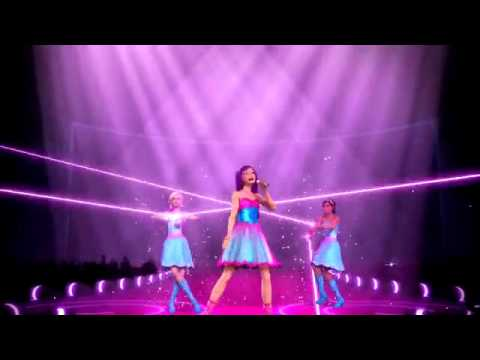 "2012 ° ♫ [HQ] BARBIE™: THE PRINCESS & THE POPSTAR "" Here I Am "" MusicVideo"