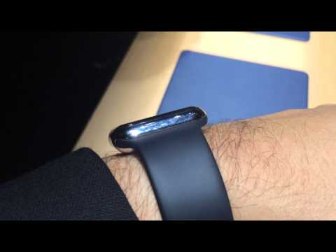 Apple Watch Sport, hands-on