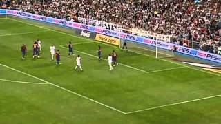 Spanish League 2007-08: Real Madrid X Barcelona - 1º HALF